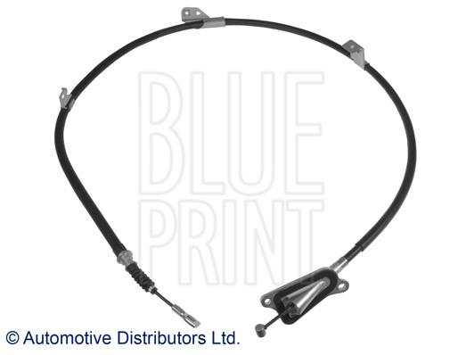 Tirette à câble, frein de stationnement - BLUE PRINT - ADN146271