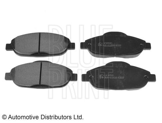 Kit de plaquettes de frein, frein à disque - BLUE PRINT - ADP154204