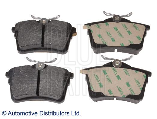 Kit de plaquettes de frein, frein à disque - BLUE PRINT - ADP154205