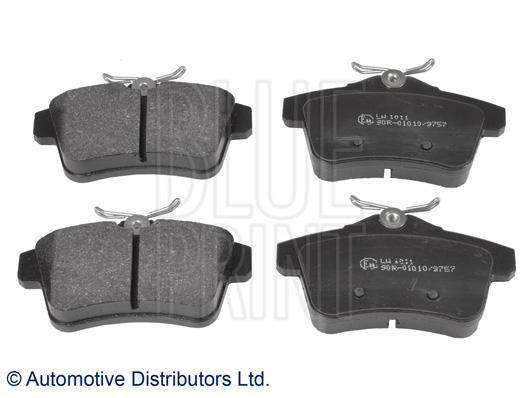 Kit de plaquettes de frein, frein à disque - BLUE PRINT - ADP154209