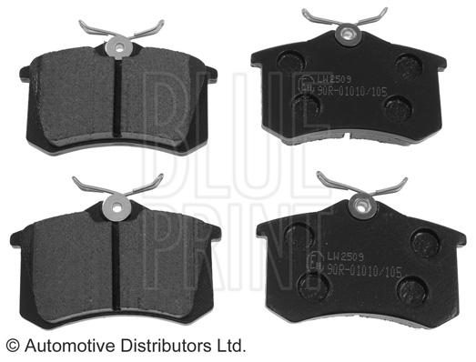 Kit de plaquettes de frein, frein à disque - BLUE PRINT - ADR164201