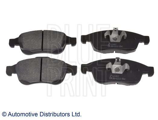 Kit de plaquettes de frein, frein à disque - BLUE PRINT - ADR164206