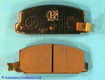 Kit de plaquettes de frein, frein à disque - BLUE PRINT - ADS74203