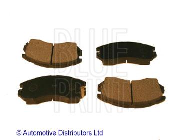 Kit de plaquettes de frein, frein à disque - BLUE PRINT - ADS74206
