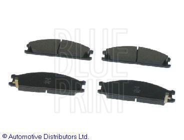Kit de plaquettes de frein, frein à disque - BLUE PRINT - ADS74210