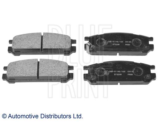 Kit de plaquettes de frein, frein à disque - BLUE PRINT - ADS74224
