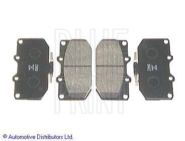 Kit de plaquettes de frein, frein à disque - BLUE PRINT - ADS74225