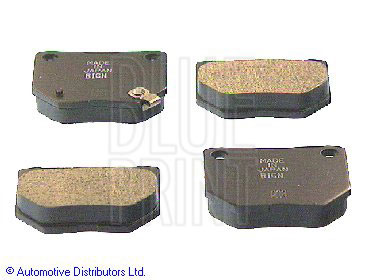 Kit de plaquettes de frein, frein à disque - BLUE PRINT - ADS74227