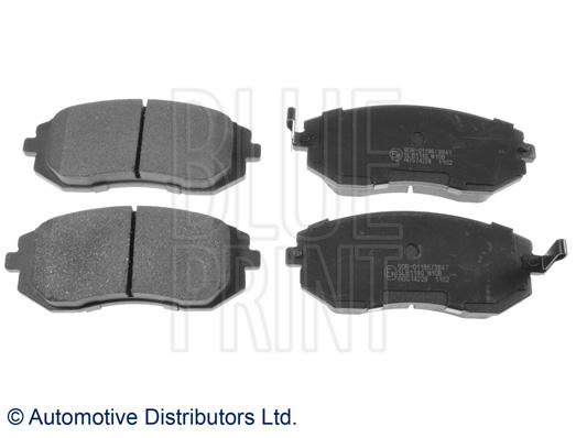Kit de plaquettes de frein, frein à disque - BLUE PRINT - ADS74228