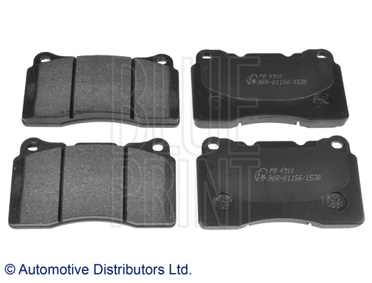Kit de plaquettes de frein, frein à disque - BLUE PRINT - ADS74229