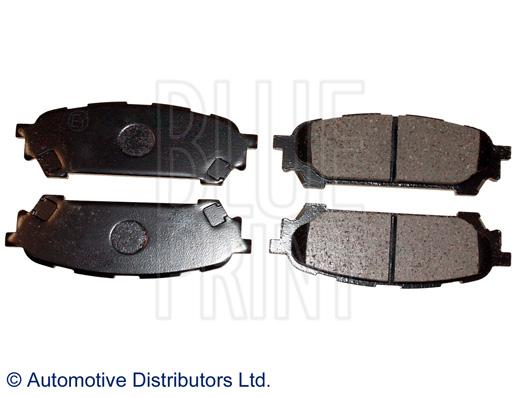 Kit de plaquettes de frein, frein à disque - BLUE PRINT - ADS74231