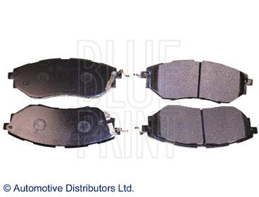 Kit de plaquettes de frein, frein à disque - BLUE PRINT - ADS74232