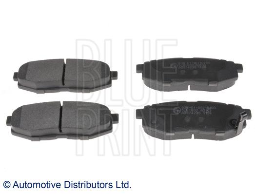 Kit de plaquettes de frein, frein à disque - BLUE PRINT - ADS74235