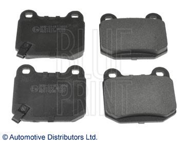 Kit de plaquettes de frein, frein à disque - BLUE PRINT - ADS74236