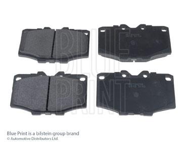 Kit de plaquettes de frein, frein à disque - BLUE PRINT - ADT34208