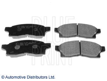 Kit de plaquettes de frein, frein à disque - BLUE PRINT - ADT342100