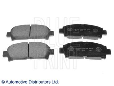 Kit de plaquettes de frein, frein à disque - BLUE PRINT - ADT342101