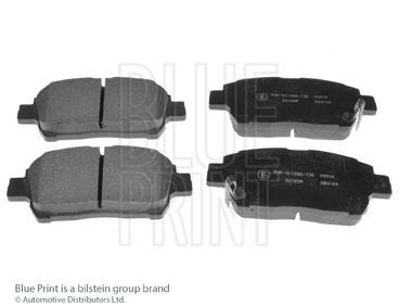 Kit de plaquettes de frein, frein à disque - BLUE PRINT - ADT342105