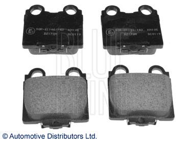 Kit de plaquettes de frein, frein à disque - BLUE PRINT - ADT342108