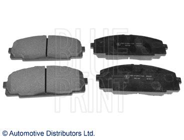 Kit de plaquettes de frein, frein à disque - BLUE PRINT - ADT342109