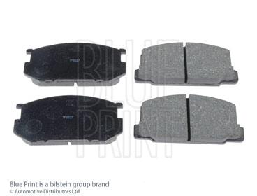 Kit de plaquettes de frein, frein à disque - BLUE PRINT - ADT34211