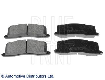Kit de plaquettes de frein, frein à disque - BLUE PRINT - ADT342110