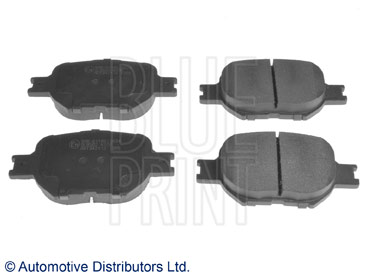 Kit de plaquettes de frein, frein à disque - BLUE PRINT - ADT342112