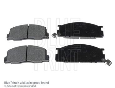Kit de plaquettes de frein, frein à disque - BLUE PRINT - ADT342113