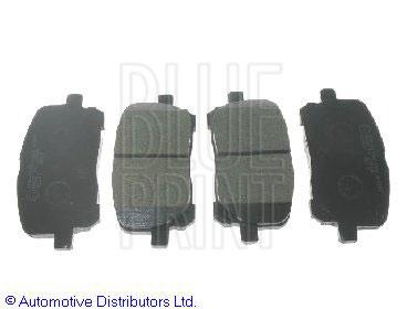 Kit de plaquettes de frein, frein à disque - BLUE PRINT - ADT342116