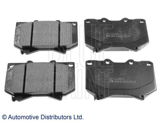 Kit de plaquettes de frein, frein à disque - BLUE PRINT - ADT342117