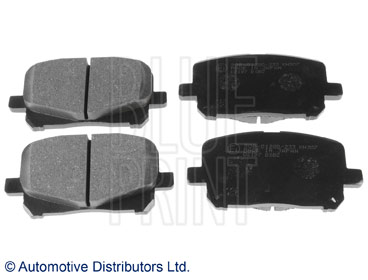 Kit de plaquettes de frein, frein à disque - BLUE PRINT - ADT342118