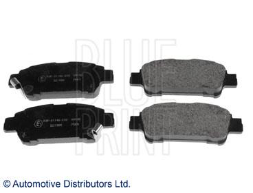 Kit de plaquettes de frein, frein à disque - BLUE PRINT - ADT342119