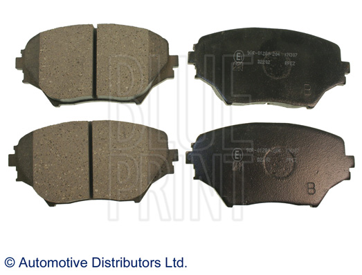 Kit de plaquettes de frein, frein à disque - BLUE PRINT - ADT342120