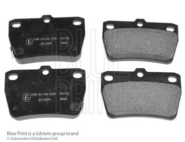 Kit de plaquettes de frein, frein à disque - BLUE PRINT - ADT342122