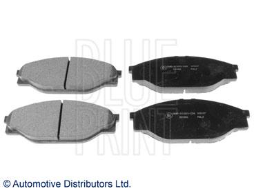 Kit de plaquettes de frein, frein à disque - BLUE PRINT - ADT342123