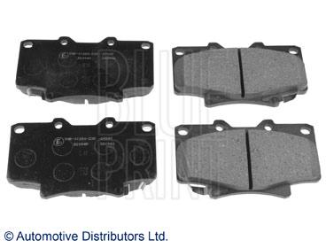 Kit de plaquettes de frein, frein à disque - BLUE PRINT - ADT342124