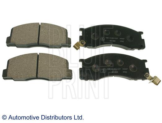 Kit de plaquettes de frein, frein à disque - BLUE PRINT - ADT342127