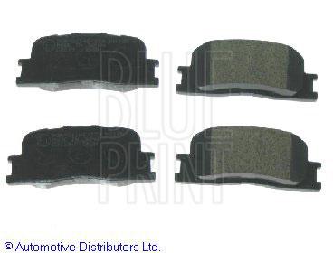 Kit de plaquettes de frein, frein à disque - BLUE PRINT - ADT342129