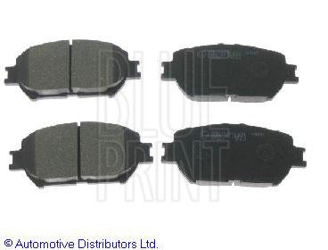 Kit de plaquettes de frein, frein à disque - BLUE PRINT - ADT342130