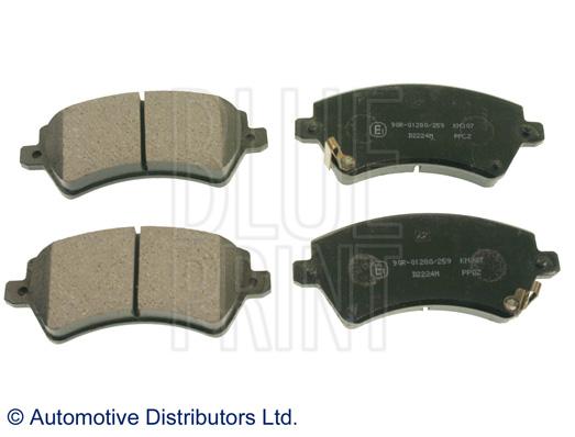 Kit de plaquettes de frein, frein à disque - BLUE PRINT - ADT342133