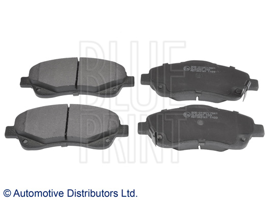 Kit de plaquettes de frein, frein à disque - BLUE PRINT - ADT342141