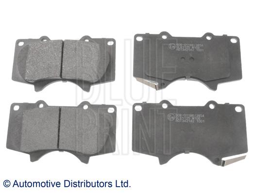 Kit de plaquettes de frein, frein à disque - BLUE PRINT - ADT342142