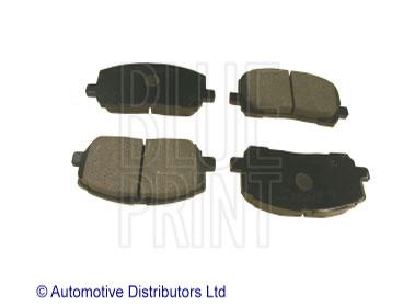 Kit de plaquettes de frein, frein à disque - BLUE PRINT - ADT342143