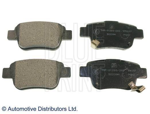 Kit de plaquettes de frein, frein à disque - BLUE PRINT - ADT342147