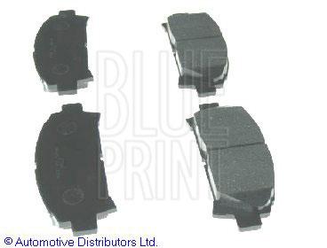 Kit de plaquettes de frein, frein à disque - BLUE PRINT - ADT342149