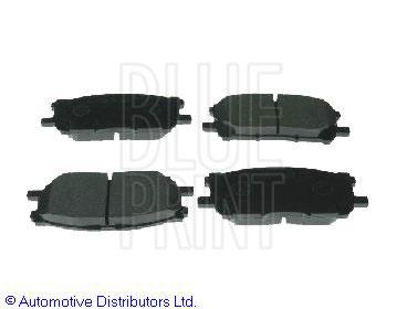 Kit de plaquettes de frein, frein à disque - BLUE PRINT - ADT342153