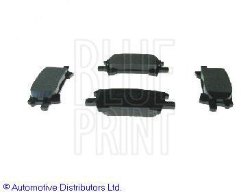 Kit de plaquettes de frein, frein à disque - BLUE PRINT - ADT342154