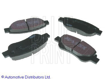 Kit de plaquettes de frein, frein à disque - BLUE PRINT - ADT342155