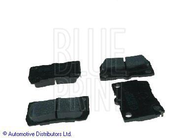 Kit de plaquettes de frein, frein à disque - BLUE PRINT - ADT342156