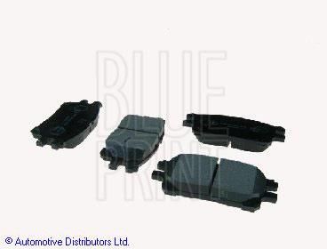 Kit de plaquettes de frein, frein à disque - BLUE PRINT - ADT342157